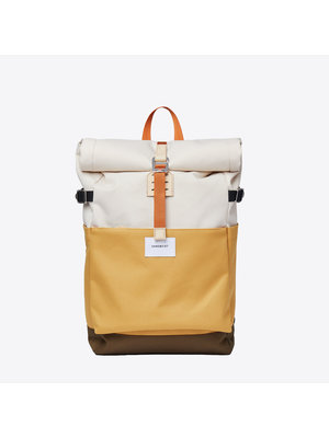 Sandqvist Ilon Yellow Sand Backpack