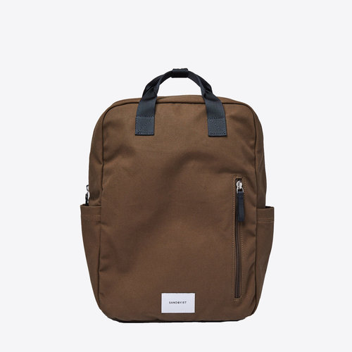 Sandqvist Knut Olive Backpack