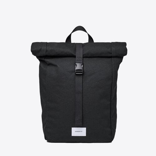 Sandqvist Kaj Black Backpack