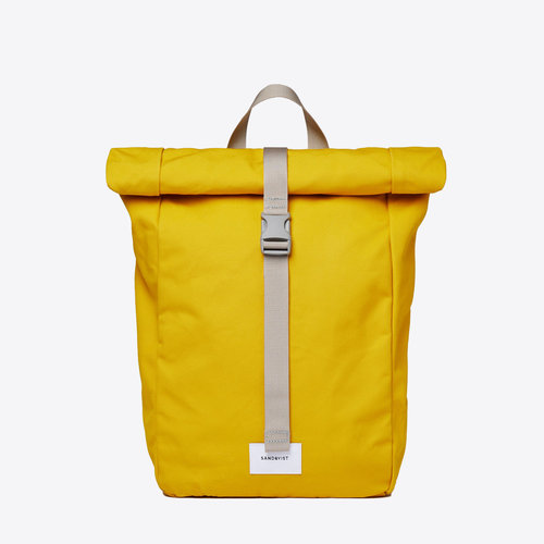 Sandqvist Kaj Yellow Backpack