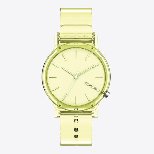 Komono Mono Clear Ray Horloge