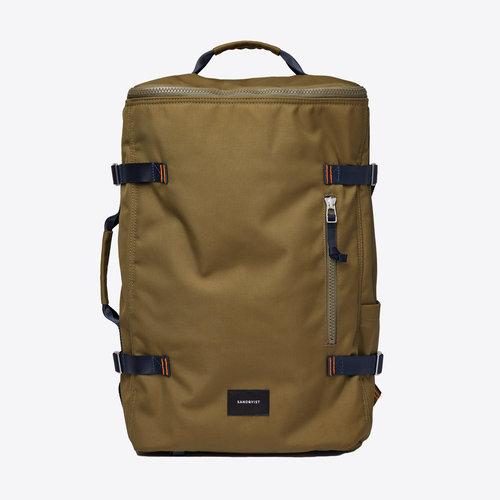 Sandqvist Zeke Olive Backpack