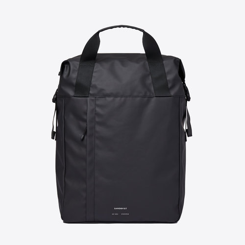 Sandqvist Atle Black Backpack