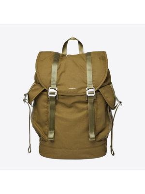 Sandqvist Charlie Vegan Military Olive Backpack