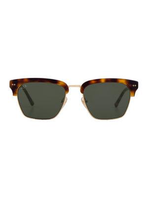 Kapten and Son Atlanta Gold Green Sunglasses