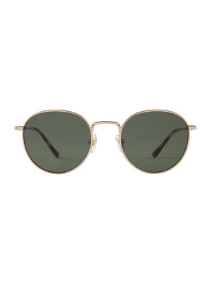 Kapten and Son London Gold Green Sunglasses