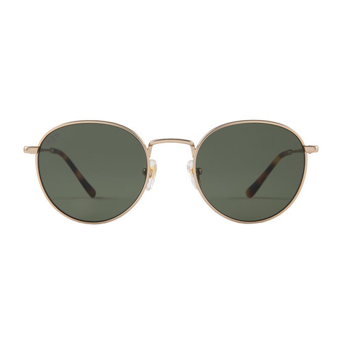 Kapten and Son London Gold Green Zonnebril