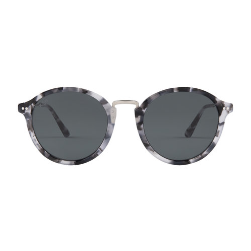 Kapten and Son Maui Grey Tortoise Black Zonnebril