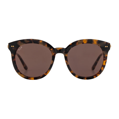 Kapten and Son Paris Amber Tortoise Brown Zonnebril
