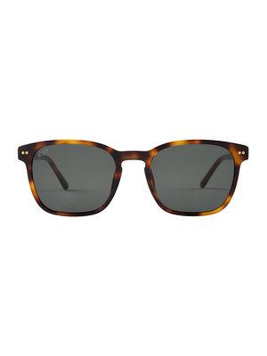 Kapten and Son Pasadena Tortoise Green Sunglasses