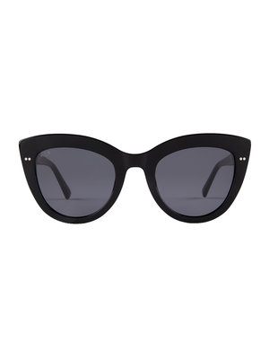 Kapten and Son Sofia All Black Sunglasses