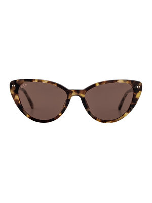 Kapten and Son Valencia Amber Tortoise Brown Sunglasses