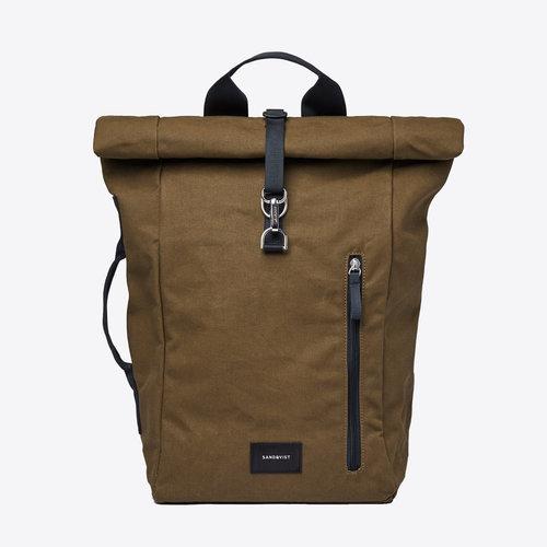 Sandqvist Dante Vegan Olive Backpack