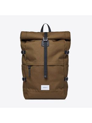 Sandqvist Bernt Olive Backpack