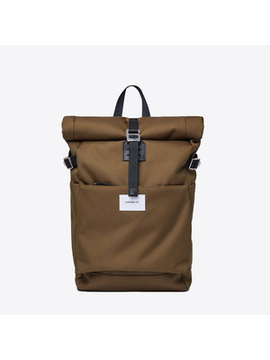 Sandqvist Ilon Olive Backpack