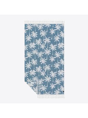 Slowtide Loreto Dusty Blue Turkish Towel
