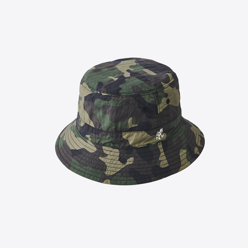 Gramicci Shell Reversible Hat Camo x Black Bucket Hat