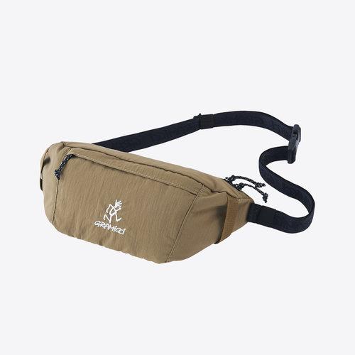 Gramicci Body Bag Tan Heuptas