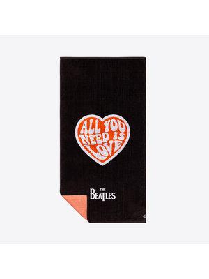 Slowtide Beatles All You Need Serviette de plage