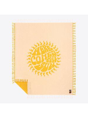 Slowtide Beatles Here Comes The Sun Coperta da Spiaggia