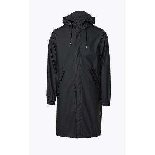 Rains Fishtail Parka Black Regenjas