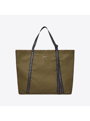 Sandqvist Albin Olive Shoulder Bag