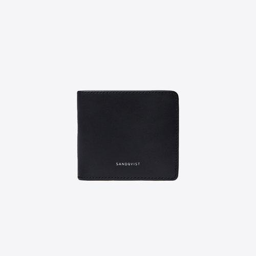 Sandqvist Manfred Black Wallet