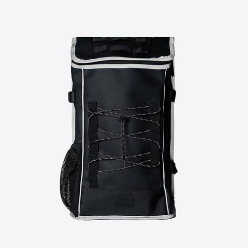 Rains Mountaineer Bag Black Reflective Rugzak