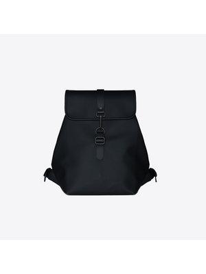 Rains Bucket Backpack Black Backpack