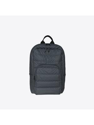 Rains Base Bag Mini Quilted Slate Backpack