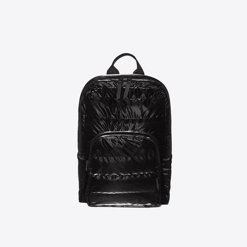 Rains Base Bag Mini Quilted Velvet Black Backpack
