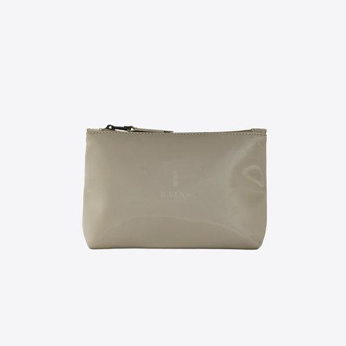 Rains Cosmetic Bag Velvet Taupe Toilettas