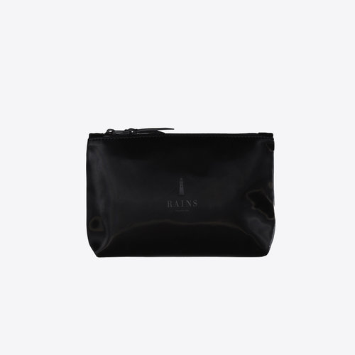 Rains Cosmetic Bag Velvet Black Toilettas