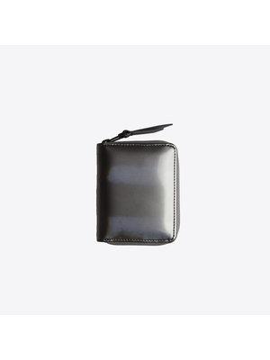 Rains Small Wallet Holographic Steel Portemonnee