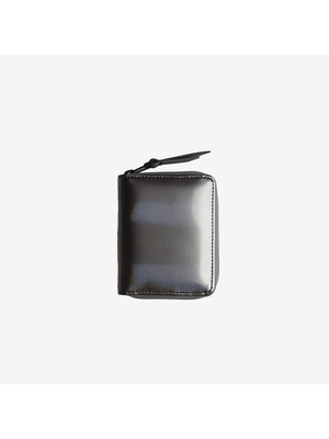 Rains Small Wallet Holographic Steel
