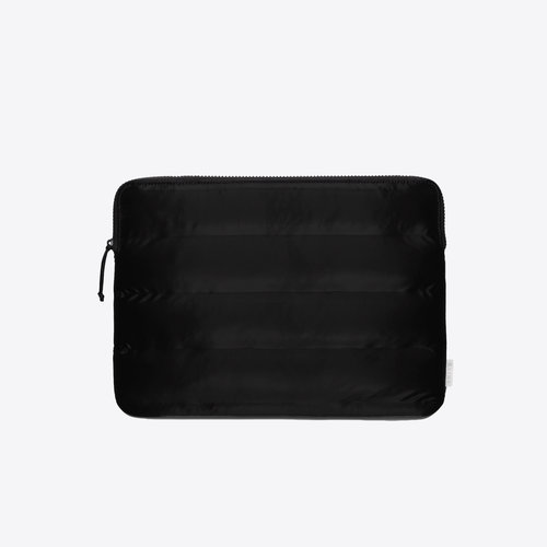Rains Laptop Cover Quilted Velvet Black 13 inch Laptophoes