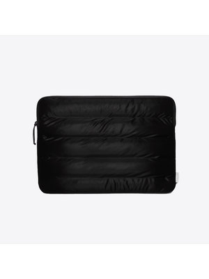 Rains Laptop Cover Quilted Velvet Black 15 inch Laptophoes