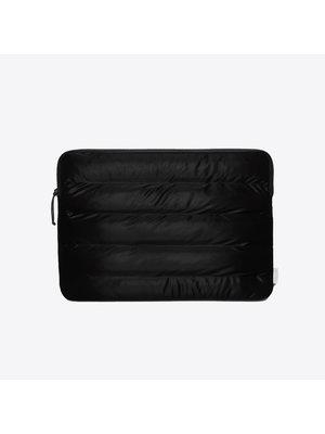 Rains Laptop Cover Quilted Velvet Black 15 inch