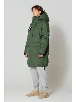 GoFranck Climate Forest Green Cappotto