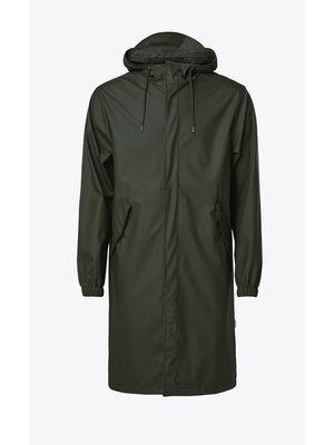Rains Fishtail Parka Green Raincoat