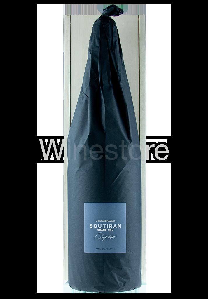 Champagne Soutiran Cuvee Signature  Grand Cru Brut Jeroboam  3ltr-4