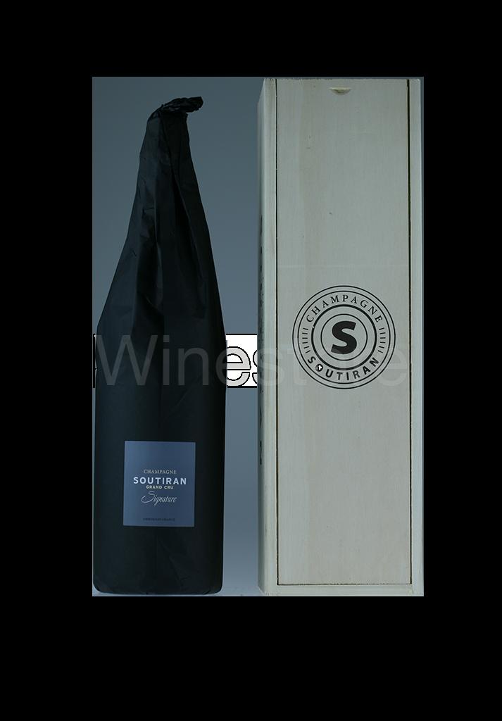 Champagne Soutiran Cuvee Signature  Grand Cru Brut Jeroboam  3ltr-5