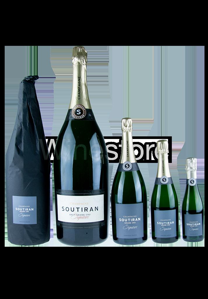 Champagne Soutiran Cuvee Signature  Grand Cru Brut Jeroboam  3ltr-6