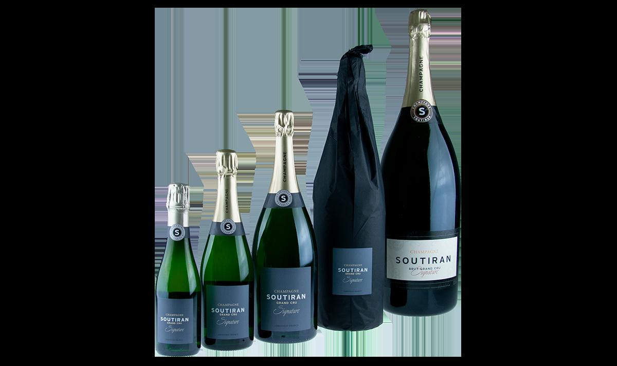 Champagne Soutiran Brut Cuvee Signature Grand Cru 0,375ltr-3
