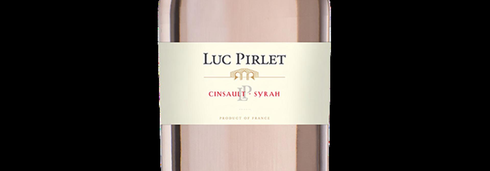Bi-cepage Cinsault-Syrah Rose, Luc Pirlet