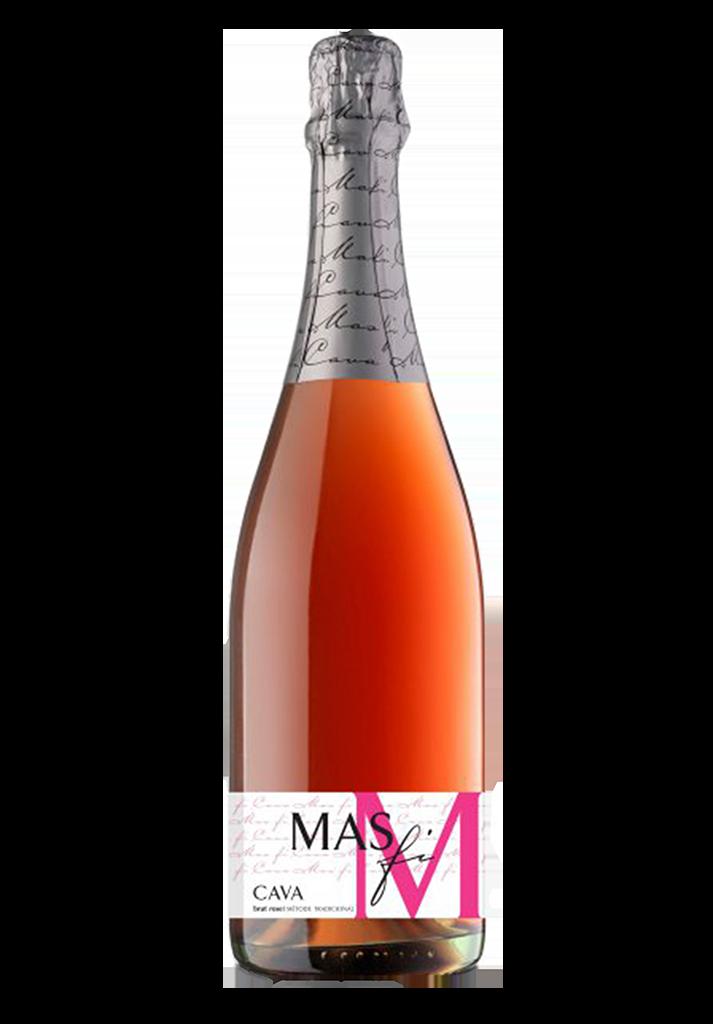 Cava Mas Fi Brut Rosé-1