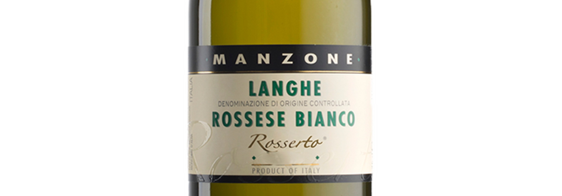 Langhe Rossese Bianco, Giovanni Manzone
