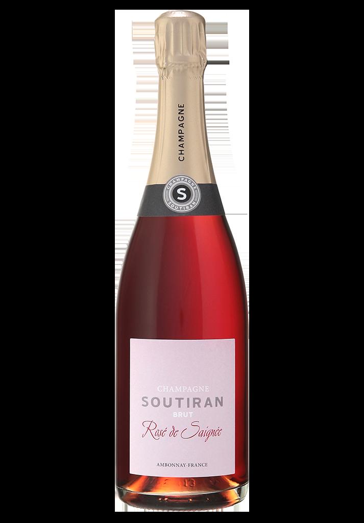 Champagne Soutiran Brut Cuvee Rose de Saignee-1