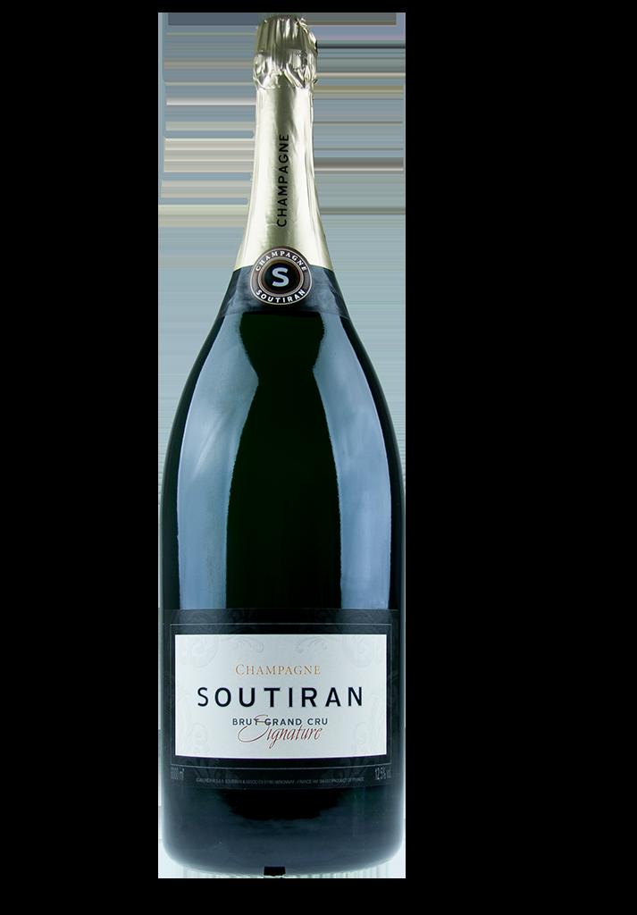 Champagne Soutiran Cuvee Signature Grand Cru Brut Mathusalem  6ltr-1