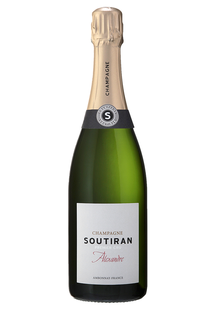 Champagne Soutiran Brut Cuvee Alexandre 1er Cru-1